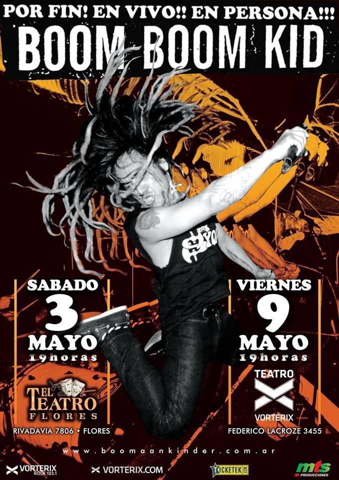 Boom Boom Kid en Buenos Aires