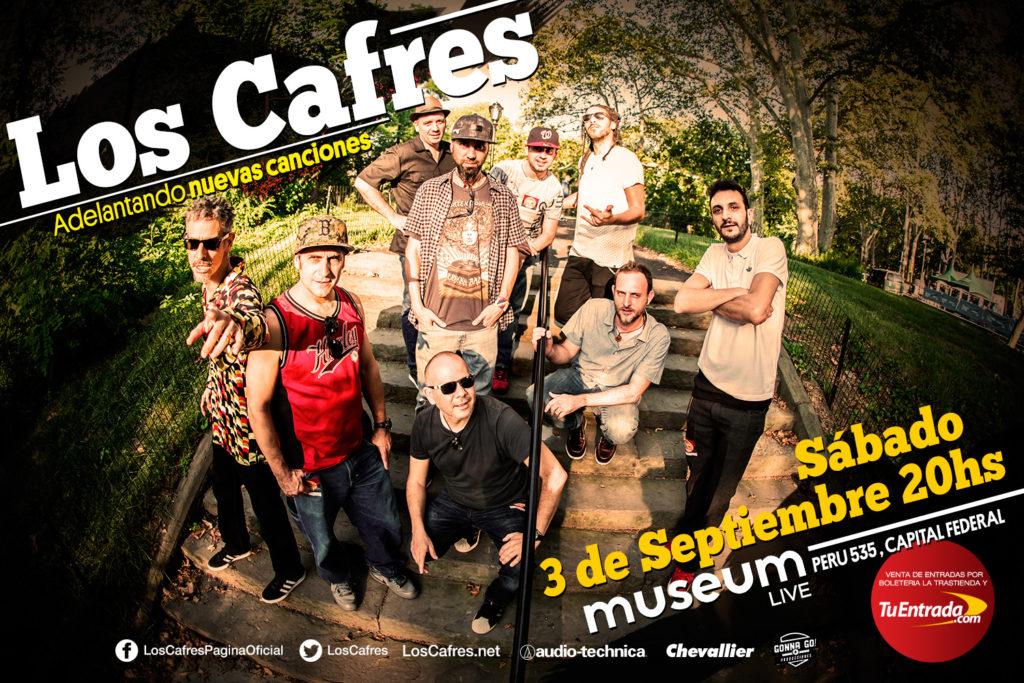 Los Cafres en Museum Live