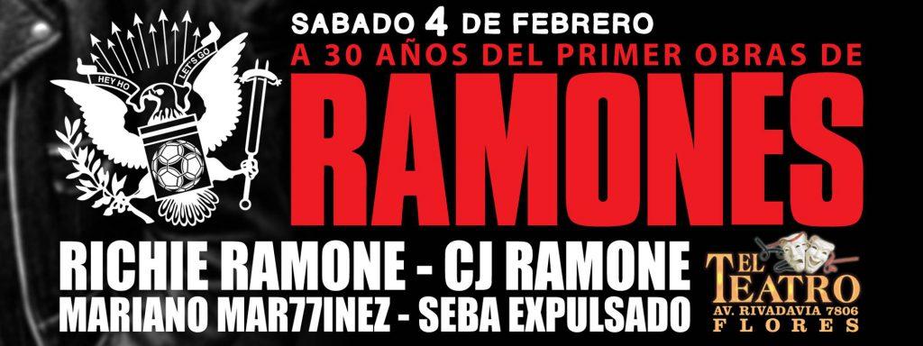 Richie Ramone y CJ Ramone en Argentina