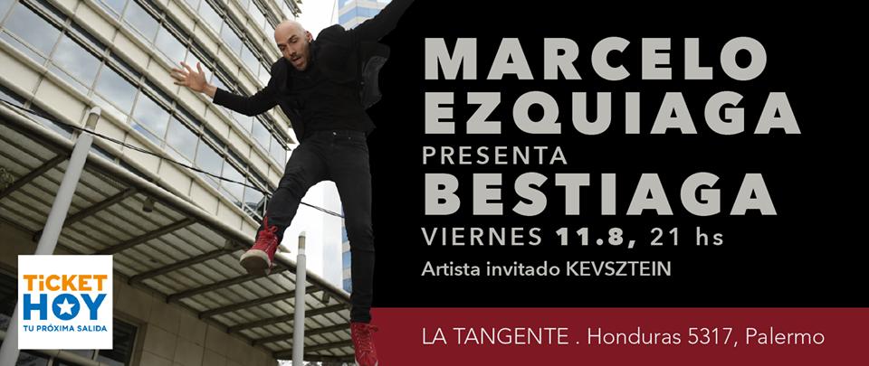 Marcelo Ezquiaga presenta