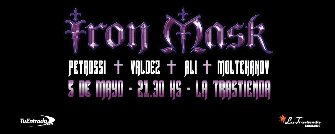 Iron Mask presenta su álbum