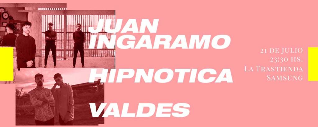 Juan Ingaramo en la Trastienda Samsung